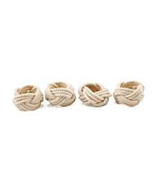Thirstystone 4pc Rope Napkin Rings