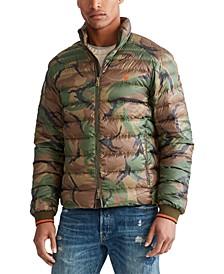 폴로 랄프로렌 Polo Ralph Lauren Mens Holden Down Packable Camo Jacket,British Elmwood Camo