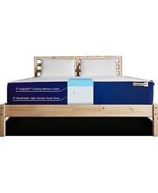 Unplug Premium Memory Foam California King Mattress