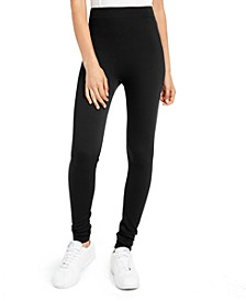 Juniors' Fleece-Lined Leggings