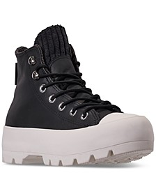 Women's Chuck Taylor All Star Lugged Winter Retrograde High Top Sneaker Boot Casual Sneakers from Finish Line
