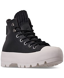 Converse Women's Chuck Taylor All Star Lugged Winter Retrograde High Top Sneaker Boot Casual Sneakers from Finish Line