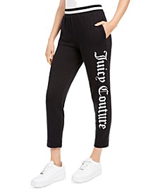 Cotton Gothic Logo Sweatpants