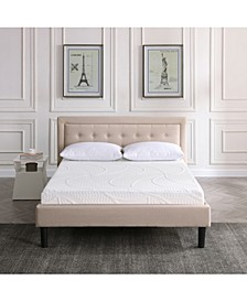 "Sofia 7"" Plush Gel Mattress- Twin"