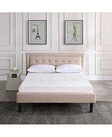 "Sleep Trends Sofia 7"" Plush Gel Mattress- Full"