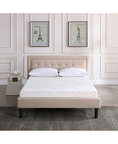"Sleep Trends Sofia 7"" Plush Gel Mattress Collection"