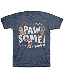 Little Boys PAW Patrol Totally Pawsome T-Shirt