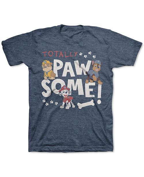 Nickelodeon Little Boys PAW Patrol Totally Pawsome T-Shirt