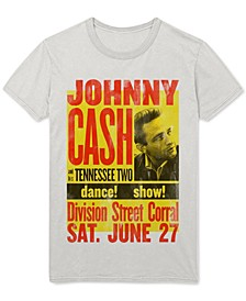 Johnny Cash Men's Graphic T-Shirt