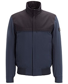 BOSS Men's Water-Repellent Padded Blouson Jacket