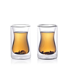 Epare 6 Oz Double-Wall Turkish Tea Cup- Set of 2