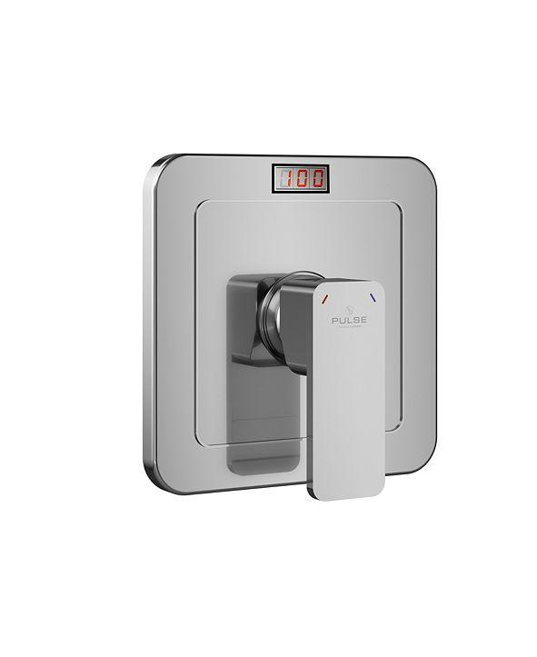 "Pulse Shower Spas Pulse ShowerSpas LED Tru-Temp Pressure Balance 0.5"" Rough-In Valve with Trim Kit"