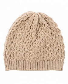 Glitzhome Cable Knit Beanie