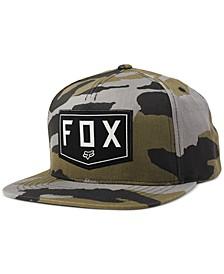 Men's Shield Snapback Hat