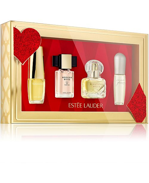 Estee Lauder Limited Edition 4-Pc. Fragrance Treasures Gift Set
