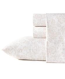 Mae Cotton Percale Twin Sheet Set