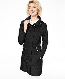 Packable Hooded Raincoat