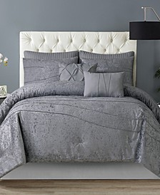 Julienne 7-Piece Comforter Set - Queen