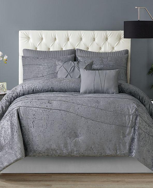 Style 212 Julienne 7-Piece Comforter Set - King