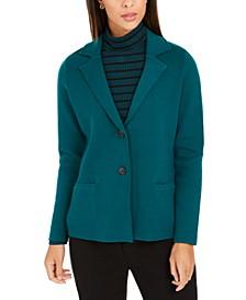 Sweater Blazer Jacket, Created for Macy's