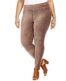 Plus Size Corduroy Leggings, Created for Macy's
