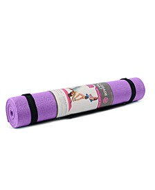 Studio Grade Yoga Mat with Carry Strap