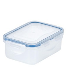 Lock n Lock Easy Essentials™ On the Go Divided Rectangular 11-Oz. Food Storage Container