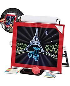 Toy Easel Tabletop LED 3 in 1- STEM