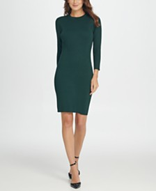 DKNY Knit Sheath Dress