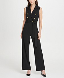 Double Breasted Jumpsuit