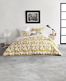 DKNY Cutout Floral Queen Comforter