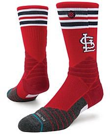 St. Louis Cardinals Diamond Pro Authentic Crew Socks