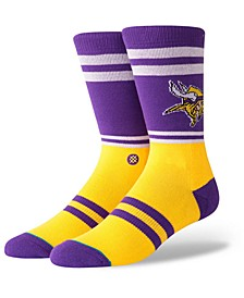 Minnesota Vikings Logo Crew Socks