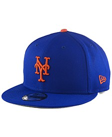 New York Mets Basic 9FIFTY Snapback Cap