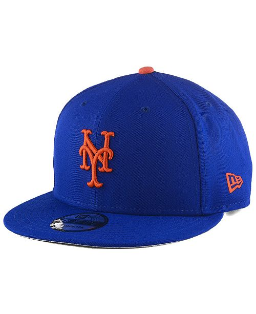 New Era New York Mets Basic 9FIFTY Snapback Cap