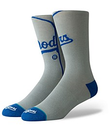 Los Angeles Dodgers Alternate Jersey Series Crew Socks