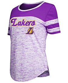 Women's Los Angeles Lakers Space Dye T-Shirt