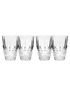 Godinger Dublin Set of 4 5oz Juice Glasses