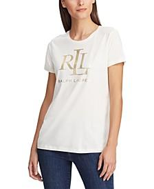 Logo Cotton-Blend T-Shirt