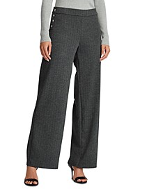 Plaid Jacquard Pants