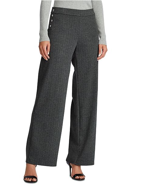 Lauren Ralph Lauren  Plaid Jacquard Pants