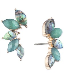 lonna & lilly Gold-Tone Stone Climber Earrings