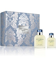 DOLCE&GABBANA Men's 2-Pc. Light Blue Pour Homme Gift Set