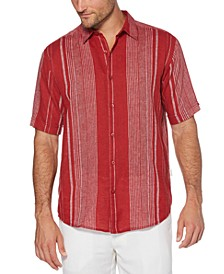 Men's Regular-Fit Yarn-Dyed Stripe Shirt