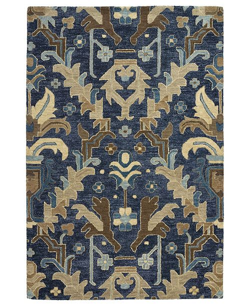 "Kaleen Brooklyn 5311-22 Navy 9'6"" x 13' Area Rug"