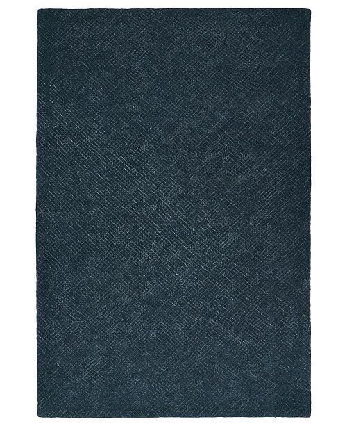 Kaleen Textura TXT06-10 Denim 9' x 12' Area Rug