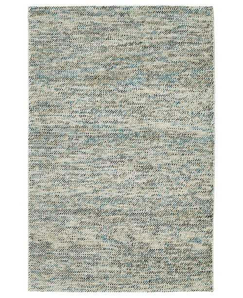 Kaleen Cord CRD01-78 Turquoise 2' x 3' Area Rug