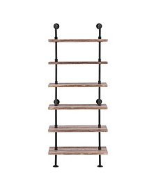 6-Tier Pipe Shelf