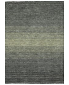 "Shades SHD01-75 Gray 9'6"" x 13' Area Rug"