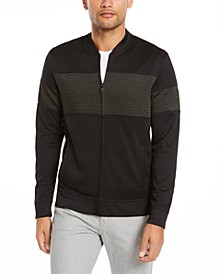 Men's Metallic Panel Jacket, Created For Macy's
